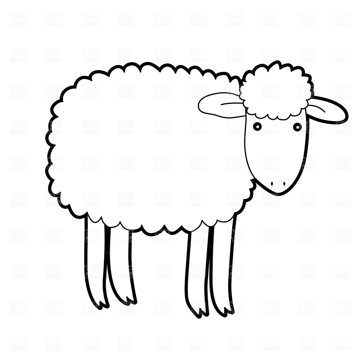 lamb clipart black and white clipart panda free clipart images rh clipartpanda com free sheep clipart the 99 free sheep clip art images