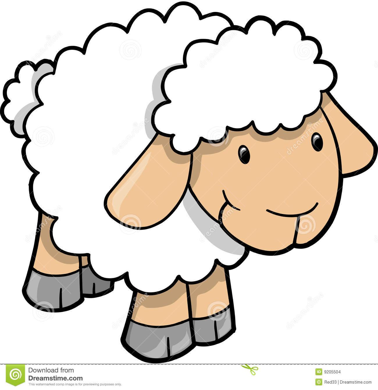 lamb clipart