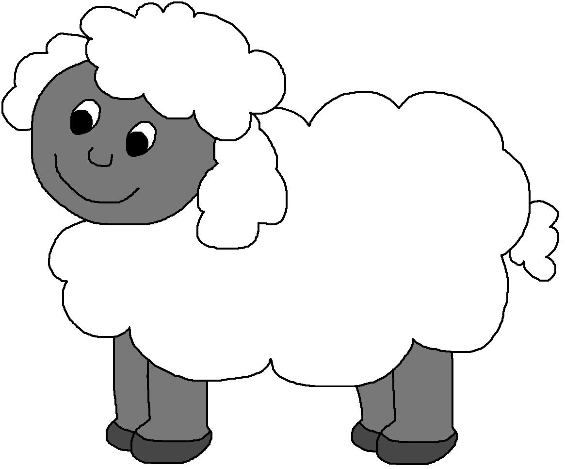 Lamb Clip Art B... Lamb Black And White Clipart