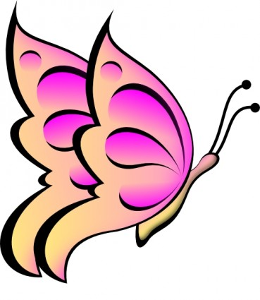 ... And Purple Butterfly Clipart | Clipart Panda - Free Clipart Images