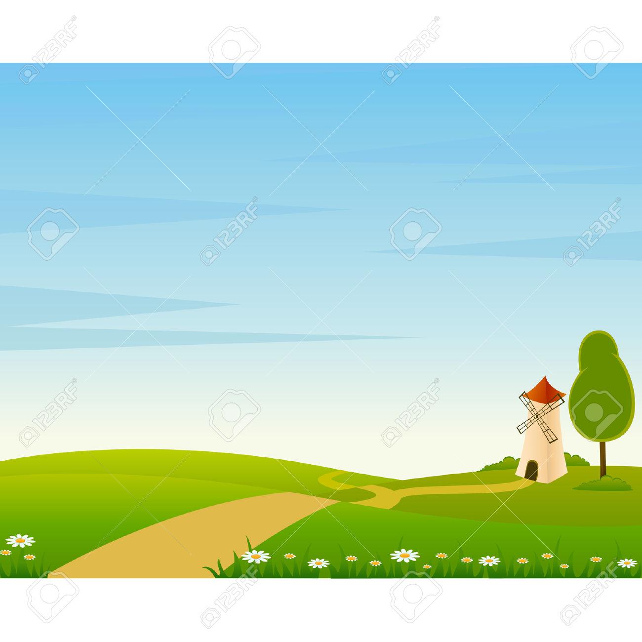 Cartoon Farm Landscape Clipart | Clipart Panda - Free Clipart Images for Farm Landscape Clip Art  110yll