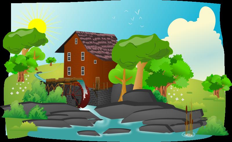 Landscaping Clip Art Illustrations | Clipart Panda - Free Clipart ...