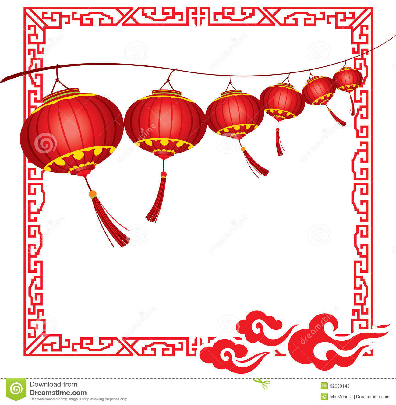 Chinese New Year Tree Decorations