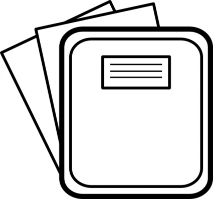 Laptop Clip Art Black and White