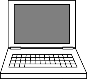 laptop clipart