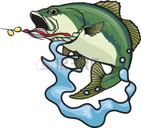 largemouth bass clip art - photo #31
