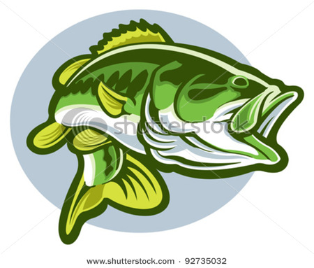 Largemouth Bass Fish Clip Art | Clipart Panda - Free ...