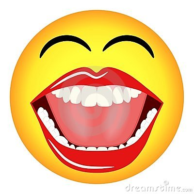 laughing face drawing - photo #28