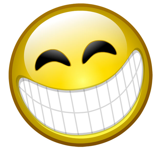 Laughing smiley face emoticon clipart panda free