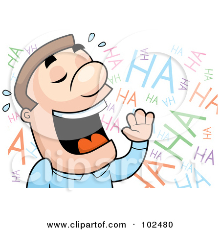 Laughing Clip Art