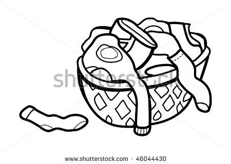 Coloring clothes dirty coloring pages for Laundry coloring pages