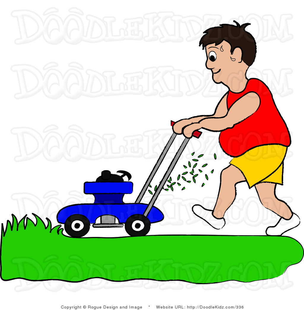 lawn-clip-art-clip-art-illustration-of-a-chubby-man-mowing-his-lawn-by ...