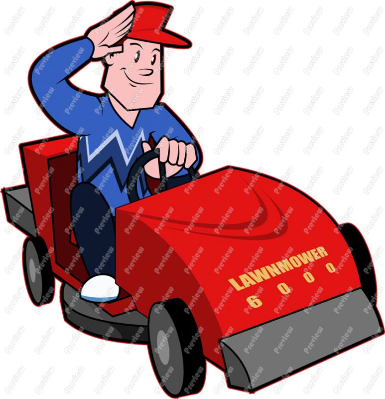 free clipart images lawn mower - photo #23