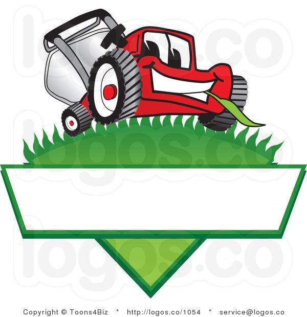 Lawn Mower Clipart Bla...