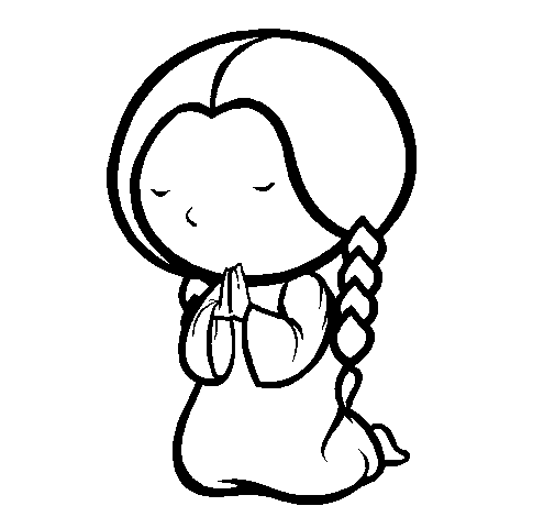 Lds Prayer Coloring Page | Clipart Panda - Free Clipart Images