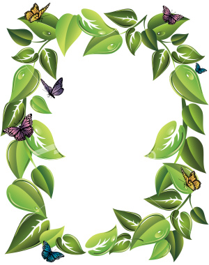 Leaf Border Clipart | Clipart Panda Free Clipart Images