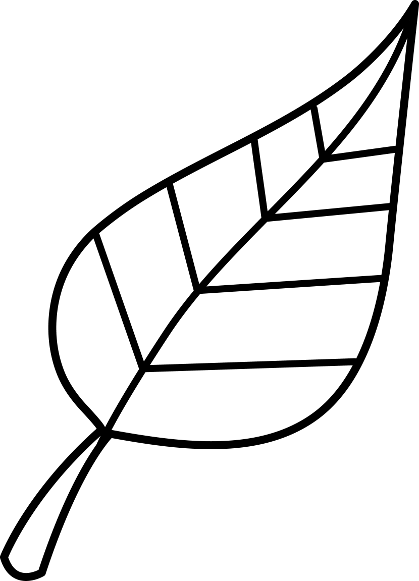 Leaves Clipart Black And White | Clipart Panda - Free ...