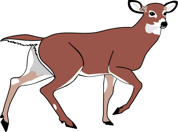 Cute Deer Clipart | Clipart Panda - Free Clipart Images