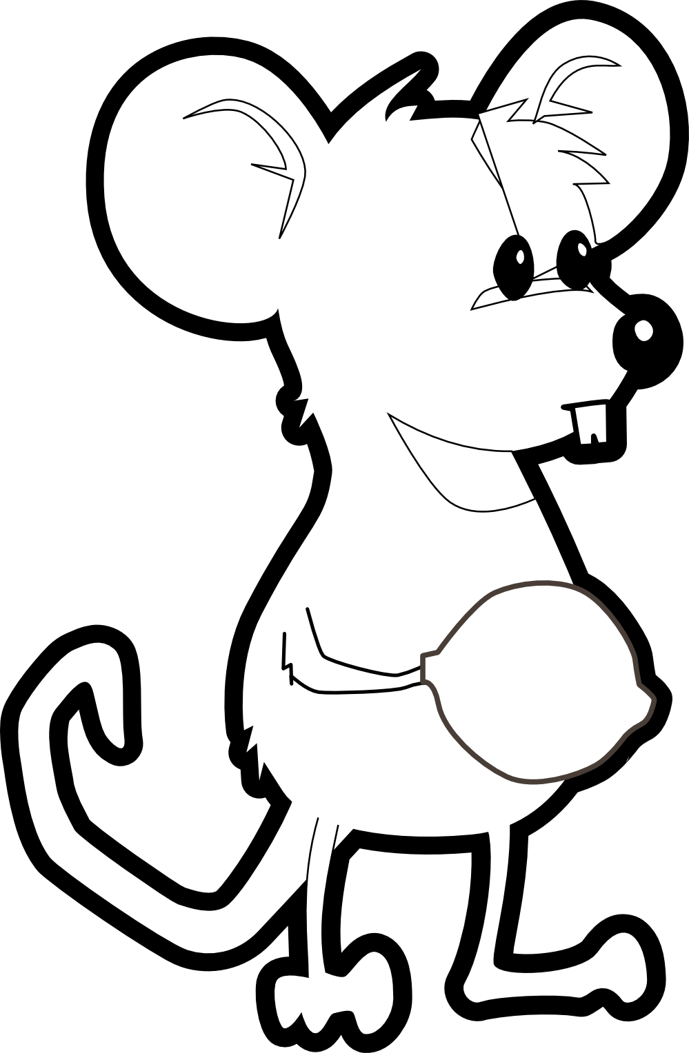 leg-clipart-black-and-white-mouse-rat-clipart-mouse_black_white_line ...