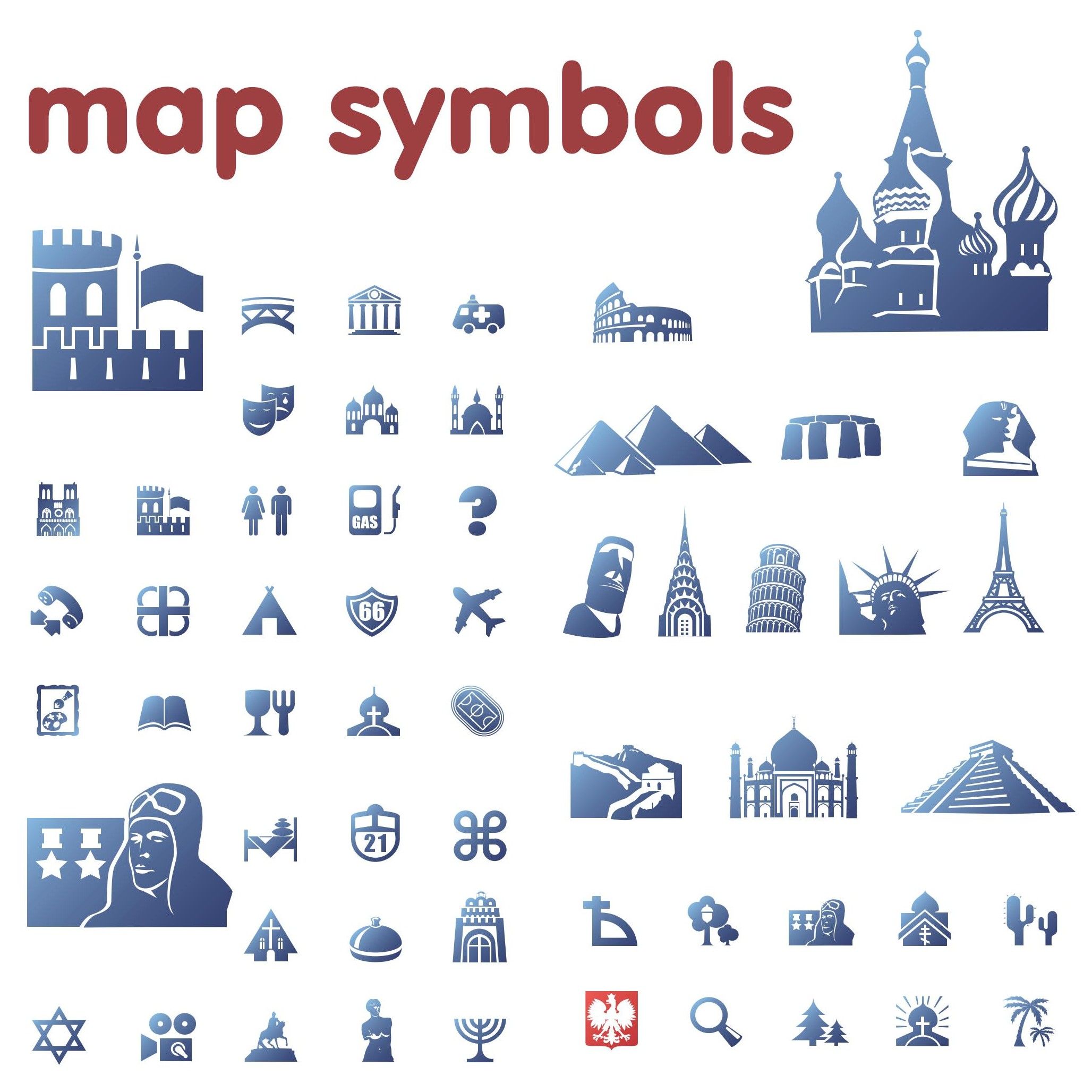 Map Legend Symbols Clipart   Clipart Panda - Free Clipart ...