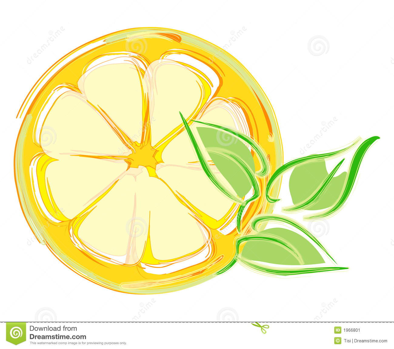 Orange Slice Illustration | Clipart Panda - Free Clipart ...