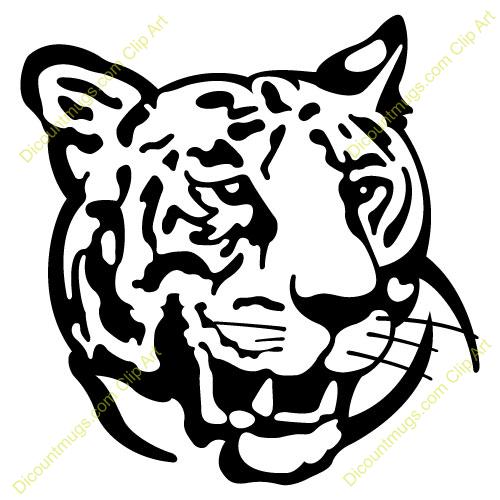 leopard face clip art - photo #21