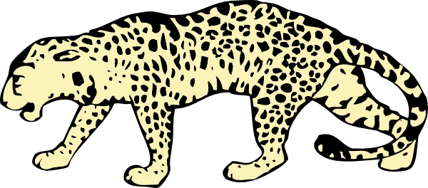 Leopard Clip Art Free Sports Themed Clipart Panda Free