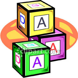 Letters Clip Art With Construction Theme | Clipart Panda - Free ...