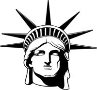 statue of liberty clip art clipart panda free clipart images rh clipartpanda com statue of liberty clip art black and white statue of liberty clip art black and white