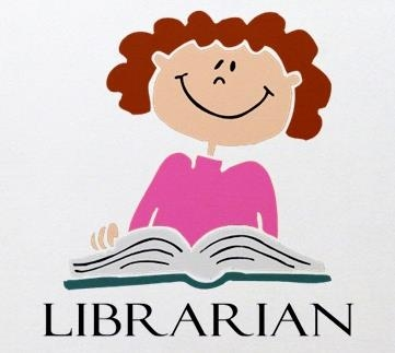 Image result for librarian cartoon