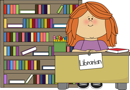 Library Clipart on Preschool Job Chart