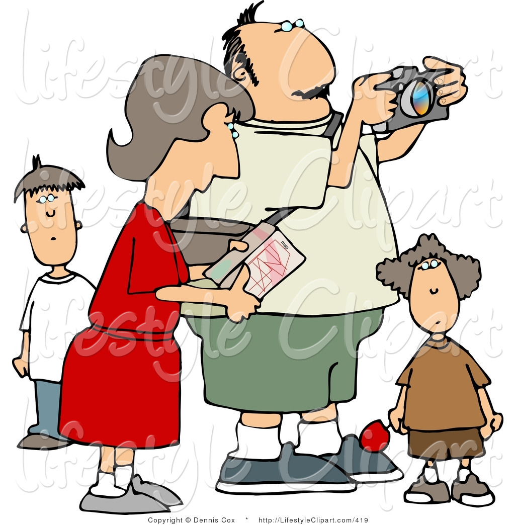 clipart of family vacation - photo #30