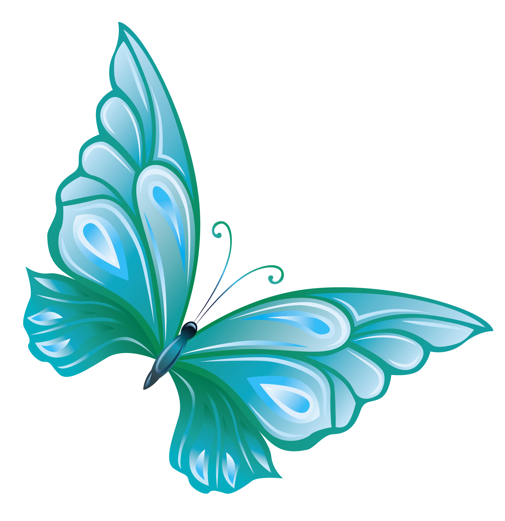 light-blue-butterfly-clipart-Transparent_Blue_Butterfly_PNG_Clipart ...