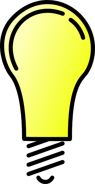 Clip Art Clipart Light Bulb thinking light bulb clip art clipart panda free images art