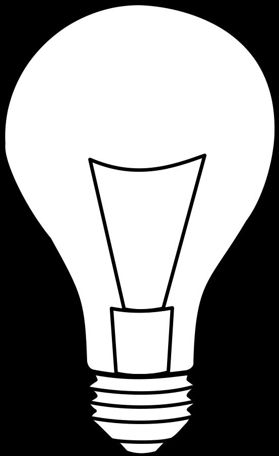 Black Light Bulbs Clipart