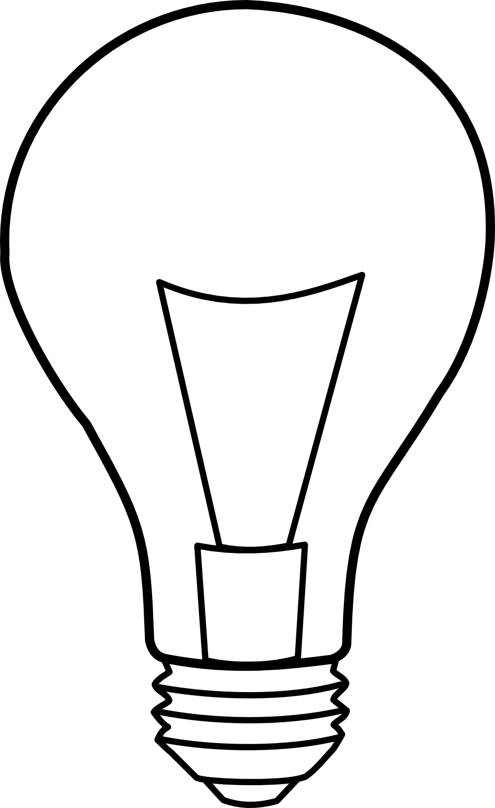 Lightbulb Clipart Black And White | Clipart Panda - Free ...