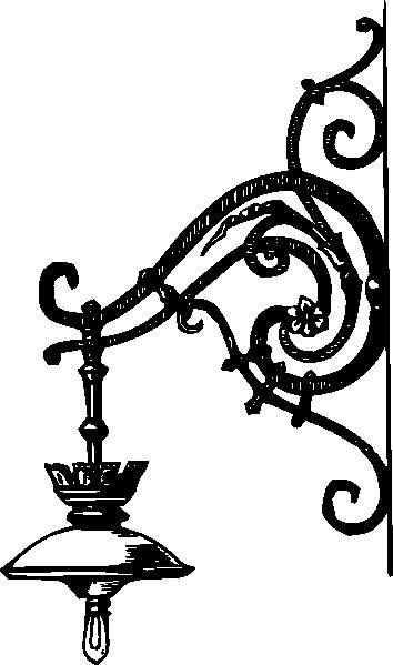 Light Bulb Clip Art Black And White Vintage Clipart