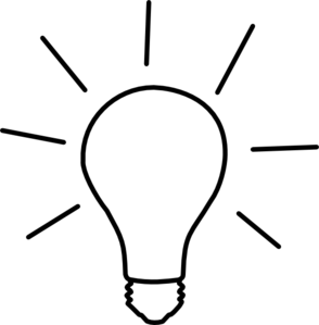 Lamp Clipart Black And White Clipart Panda Free