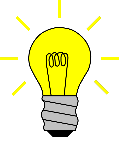 Light Bulb Clipart Black And White | Clipart Panda - Free Clipart ...