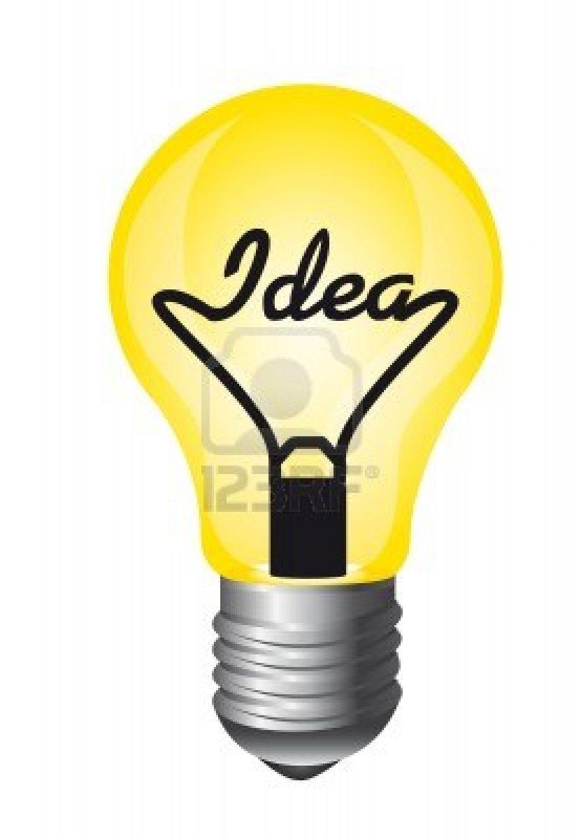 An Idea Light Bulb Pops UpIdea Light Bulb