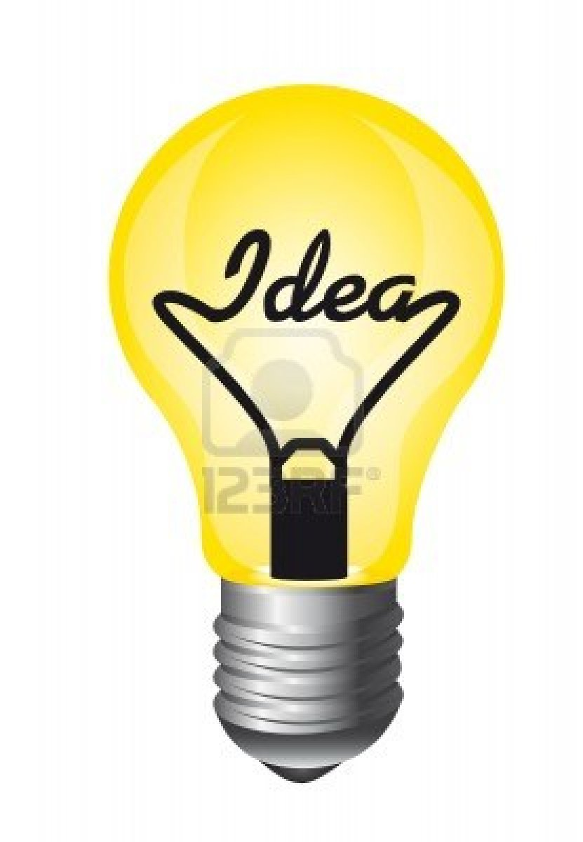 Light Bulb Idea Clipart Images