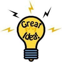 Lovely Light Bulb Idea Image