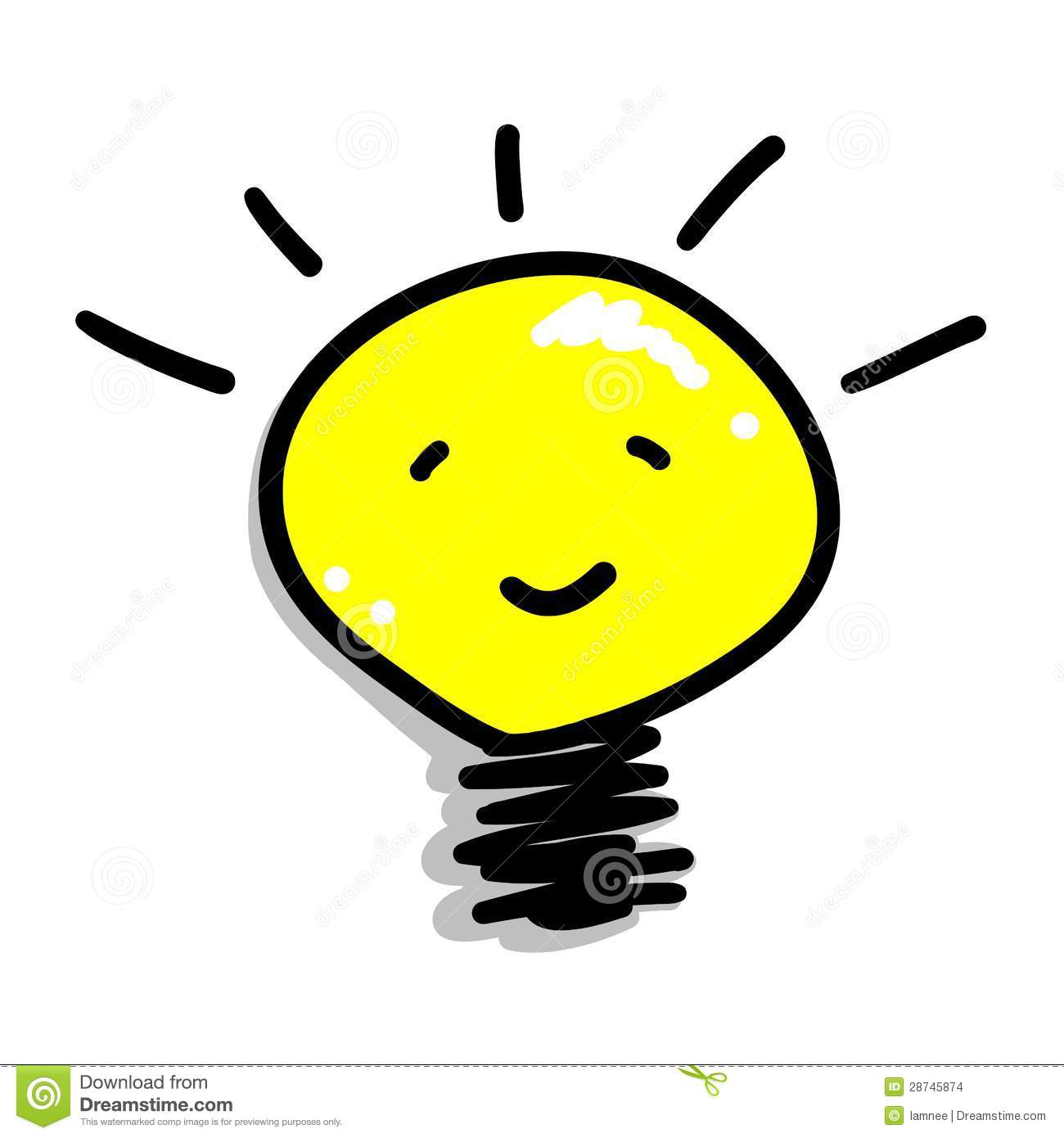 idea light bulb cartoon clipart panda free clipart images