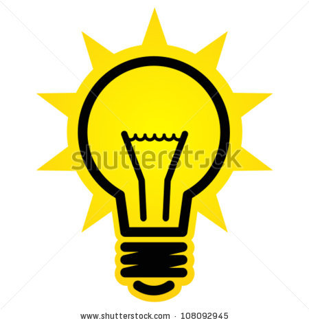 Light Bulb Idea Icon Clipart Panda Free Clipart Images