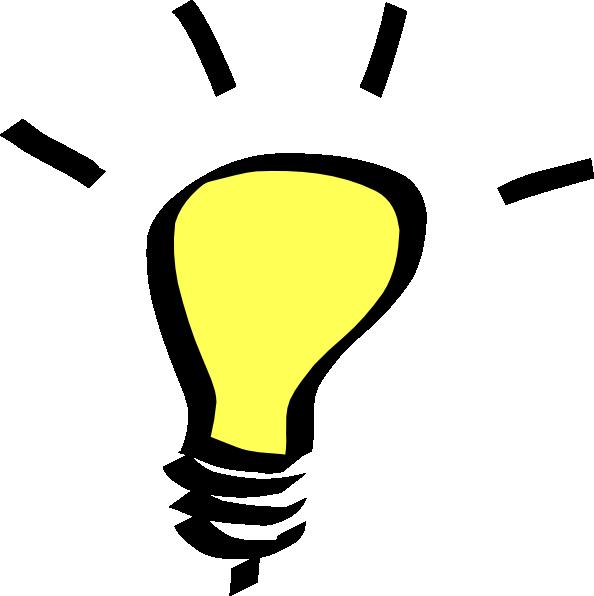 Idea Lightbulb Clipart | Clipart Panda - Free Clipart Images