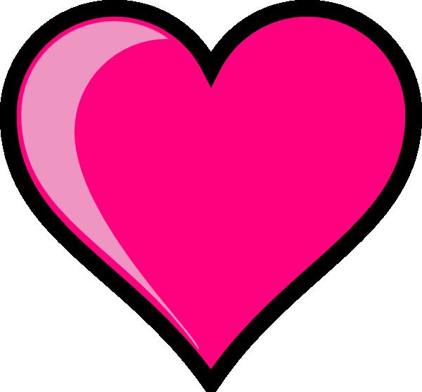 Clip Art Pink Heart Clipart light pink heart clipart panda free images