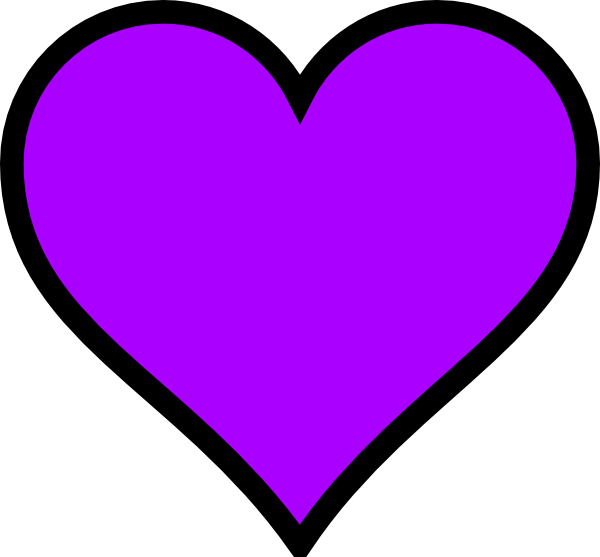 Light Purple Heart Clipart | Clipart Panda - Free Clipart ...