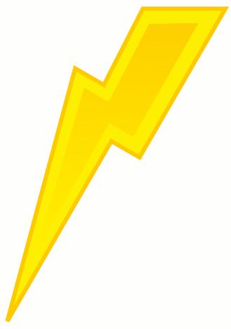 Lighting Bolt Symbol | Clipart Panda - Free Clipart Images