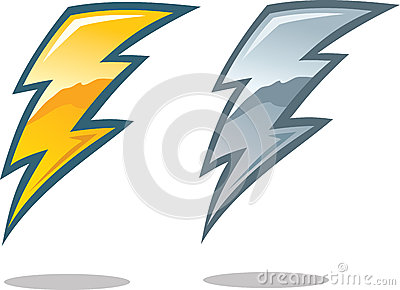 Type Lightning Bolt Symbol Lighting Bolt Symbol Lightning