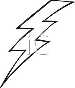 Lightning Bolt Clipart Black And White